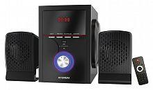 Микросистема Hyundai H-HA240 черный 39Вт/FM/USB/BT/SD