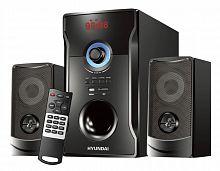 Микросистема Hyundai H-HA280 черный 78Вт/FM/USB/BT/SD