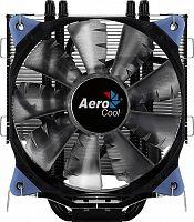 Устройство охлаждения(кулер) Aerocool Verkho 5 DARK Soc-FM2+/AM2+/AM3+/AM4/1150/1151/1155/2011 4-pin 15-27dB Al+Cu 150W 741gr LED Ret