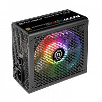 Блок питания Thermaltake ATX 600W Toughpower GX1 RGB 80+ gold (24+4+4pin) APFC 120mm fan color LED 8xSATA RTL