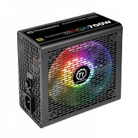 Блок питания Thermaltake ATX 700W Toughpower GX1 RGB 80+ gold (24+4+4pin) APFC 120mm fan color LED 8xSATA RTL