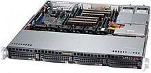 Корпус SuperMicro CSE-813MFTQ-R400CB 1U 2x400W черный