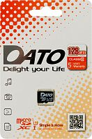 Флеш карта microSDXC 128Gb Class10 Dato DTTF128GUIC10 w/o adapter