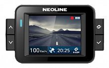 Видеорегистратор с радар-детектором Neoline X-COP 9000 GPS черный