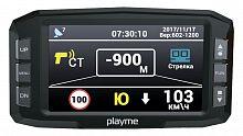 Видеорегистратор с радар-детектором Playme Tetra Р200 GPS черный