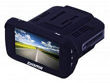 Видеорегистратор с радар-детектором Digma DCD-300 GPS черный