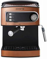 Кофеварка эспрессо Polaris PCM 1515E Adore Crema 850Вт бронзовый
