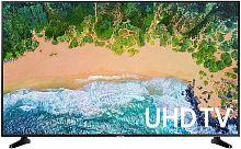 "Телевизор LED Samsung 43"" UE43NU7090UXRU 7 черный/Ultra HD/100Hz/DVB-T2/DVB-C/DVB-S2/USB/WiFi/Smart TV (RUS)"