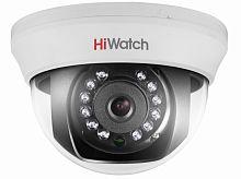 Камера видеонаблюдения Hikvision HiWatch DS-T201 6-6мм HD-TVI цветная корп.:белый