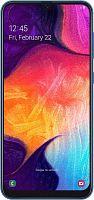 "Смартфон Samsung SM-A505F Galaxy A50 64Gb 4Gb синий моноблок 3G 4G 2Sim 6.4"" 1080x2220 Android 9 25Mpix 802.11abgnac NFC GPS GSM900/1800 GSM1900 TouchSc MP3 microSD max512Gb"