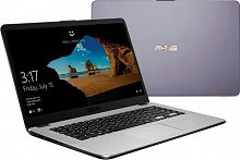 "Ноутбук Asus VivoBook X505ZA-BQ074T Ryzen 5 2500U/8Gb/SSD256Gb/AMD Radeon Vega 8/15.6""/FHD (1920x1080)/Windows 10/grey/WiFi/BT/Cam"