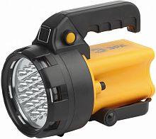 Фонарь аккумуляторный Эра PA-602 черный/желтый лам.:светодиод. (Б0031033)