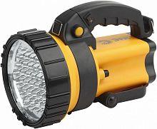 Фонарь аккумуляторный Эра PA-603 желтый/черный 3Вт лам.:светодиод. (Б0031034)