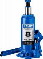 Домкрат Зубр Профессионал T50 бутылочный гидравлический синий (43060-2-K_Z01)