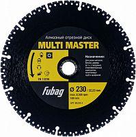 Отрезной диск универсальный Fubag Multi Master (88230-3) d=230мм d(посад.)=22.23мм (угловые шлифмашины)