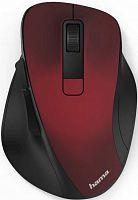Мышь Hama MW-500 красный оптическая (1600dpi) беспроводная USB для ноутбука (6but)