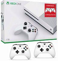 Игровая консоль Microsoft Xbox One S 234-00357-2g белый