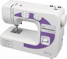Швейная машина Janome XV-5 белый/фиолетовый