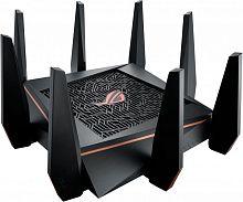 Роутер беспроводной Asus GT-AC5300 AC5300 10/100/1000BASE-TX/4G ready черный