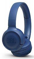 Гарнитура накладные JBL T500 1.187м синий проводные оголовье (JBLT500BLU)