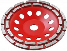 Чашка по бетону Зубр 33376-180 d=180мм d(посад.)=22.2мм (угловые шлифмашины)