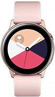 "Смарт-часы Samsung Galaxy Watch Active 39.5мм 1.1"" Super AMOLED розовое золото (SM-R500NZDASER)"