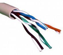 Кабель сетевой FTP 4 пары cat5E solid 0.5мм CCA 305м