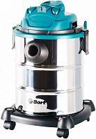 Строительный пылесос Bort BSS-1325 1300Вт (уборка: сухая/влажная) синий