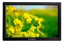 """Портативный Плеер Hyundai H-LCD1400 14.1""""/1280x800 SD/MMC черный"""