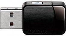 Сетевой адаптер WiFi D-Link DWA-171/RU/C1A DWA-171/RU USB 2.0 (ант.внутр.) 1ант.