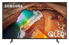 "Телевизор QLED Samsung 55"" QE55Q60RAUXRU Q черный/Ultra HD/1000Hz/DVB-T2/DVB-C/DVB-S2/USB/WiFi/Smart TV (RUS)"