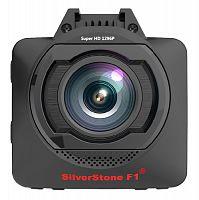 Видеорегистратор Silverstone F1 HYBRID mini pro черный 4Mpix 1296x2304 1296p 170гр. GPS внутренняя память:1Gb Ambarella A12A35
