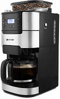 Кофеварка капельная Kitfort КТ-720 1050Вт черный/серебристый