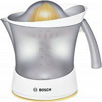 Соковыжималка цитрусовая Bosch MCP3000N 25Вт рез.сок.:800мл. белый/желтый
