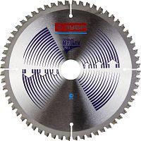 Пильный диск по алюминию Зубр Точный-МУЛЬТИ рез усиленный (36907-210-30-60) d=210мм d(посад.)=30мм (циркулярные пилы)