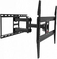 """Кронштейн для телевизора Arm Media COBRA-50 черный 26""""-55"""" макс.35кг настенный поворотно-выдвижной и наклонный"""