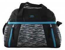 Сумка-термос Thermos Studio Fitness duffle bag черный/голубой (538710)