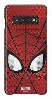 Чехол (клип-кейс) Samsung для Samsung Galaxy S10 Marvel Case Spiderman красный (GP-G973HIFGKWD)