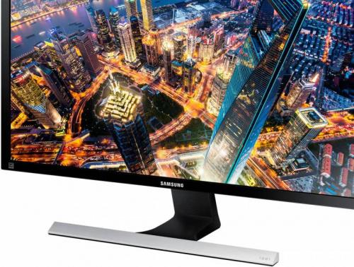 "Монитор Samsung 28"" U28E590D черный TN+film LED 16:9 HDMI матовая 370cd 170гр/160гр 3840x2160 DisplayPort Ultra HD 5.28кг (RUS) фото 6"