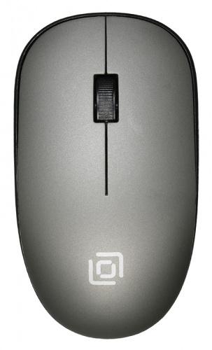 Мышь Оклик 515MW черный/серый оптическая (1200dpi) беспроводная USB (2but) фото 4
