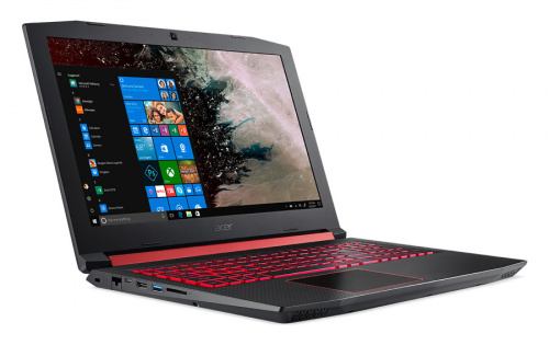 "Ноутбук Acer Nitro 5 AN515-52-71GA Core i7 8750H/8Gb/1Tb/SSD128Gb/nVidia GeForce GTX 1050 4Gb/15.6""/IPS/FHD (1920x1080)/Windows 10 Home/black/WiFi/BT/Cam фото 2"