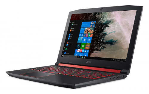 "Ноутбук Acer Nitro 5 AN515-52-71GA Core i7 8750H/8Gb/1Tb/SSD128Gb/nVidia GeForce GTX 1050 4Gb/15.6""/IPS/FHD (1920x1080)/Windows 10 Home/black/WiFi/BT/Cam фото 3"