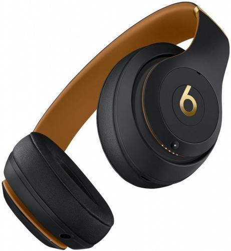 Гарнитура мониторы Beats Studio3 Skyline Collection черный беспроводные bluetooth (оголовье) фото 4
