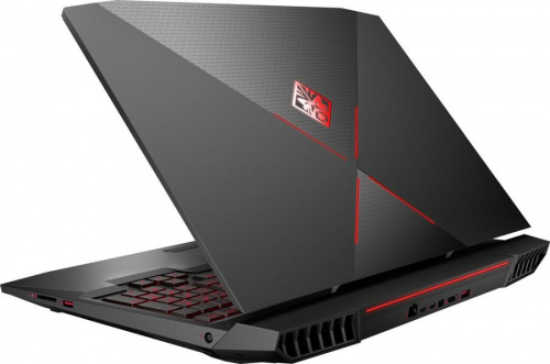 "Ноутбук HP Omen X 17-ap011ur Core i7 7820HK/32Gb/1Tb/SSD256Gb/nVidia GeForce GTX 1080 8Gb/17.3""/UHD (3840x2160)/Windows 10/black/WiFi/BT/Cam фото 4"