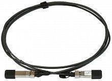 Патч-корд MikroTik S+DA0001 solid 1м черный SFP+-SFP+