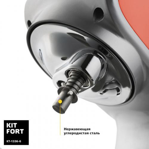 Миксер стационарный Kitfort КТ-1336-6 1000Вт коралловый фото 3