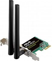Сетевой адаптер WiFi Asus PCE-AC51 AC750 PCI Express (ант.внеш.съем) 2ант.