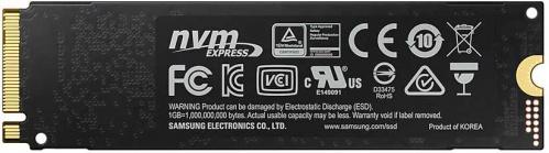 Накопитель SSD Samsung PCI-E x4 500Gb MZ-V7S500BW 970 EVO Plus M.2 2280 фото 2