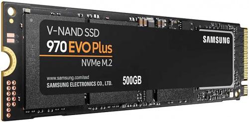 Накопитель SSD Samsung PCI-E x4 500Gb MZ-V7S500BW 970 EVO Plus M.2 2280 фото 4