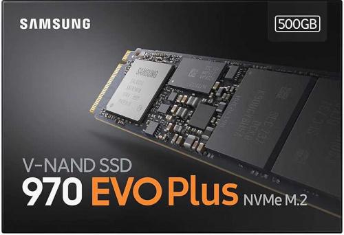 Накопитель SSD Samsung PCI-E x4 500Gb MZ-V7S500BW 970 EVO Plus M.2 2280 фото 5